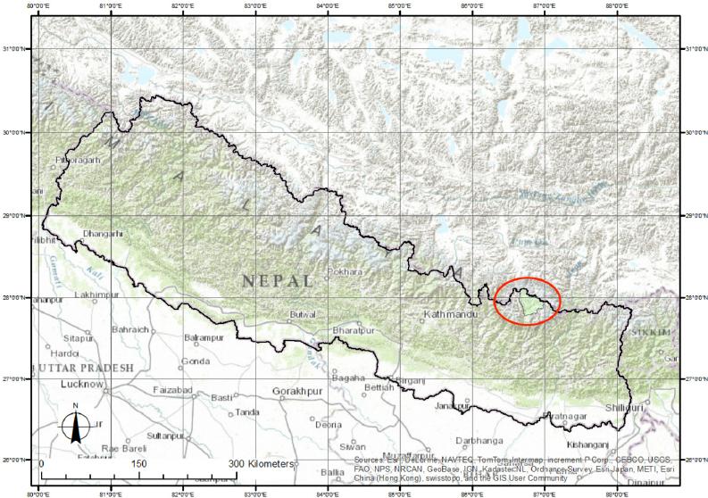 L'Imja Tse, appelé aussi l'Island Peak se situe dans la région du Kumbu au Népal.