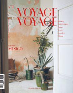 magazine numéro 1 Voyage Voyage