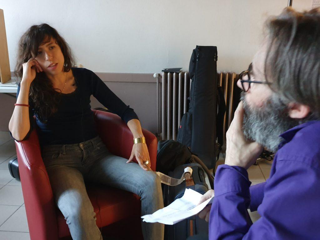 Djazia Satour interviewé par Fabrice Bérard