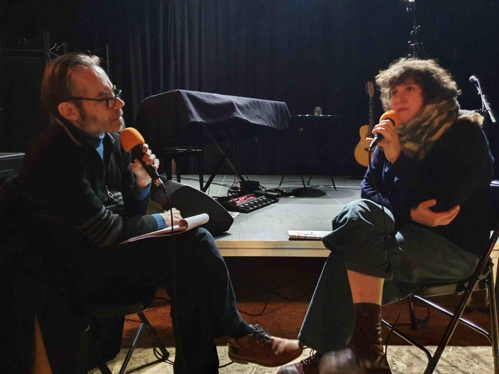 Marion Cousineau interviwé par Fabrice Bérard Allo la planete
