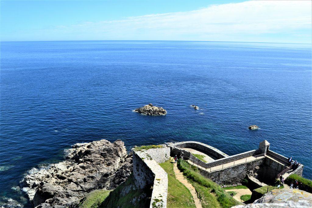 Panorama depuis Fort la Latte