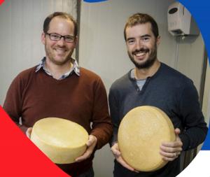 Jean-Charles Regnard et les fromages français au Chili
