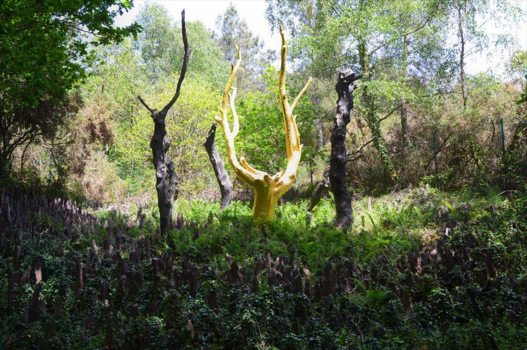 arbre d'or
