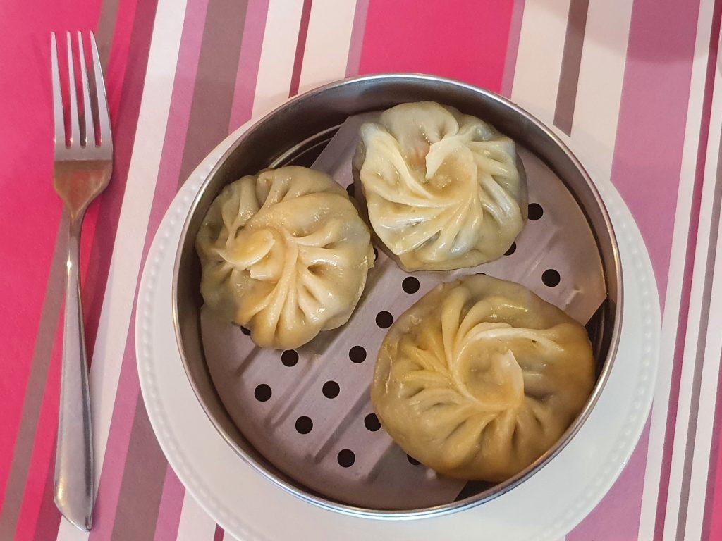 Les Momos aux légumes, une spécialité de la cuisine tibétaines
