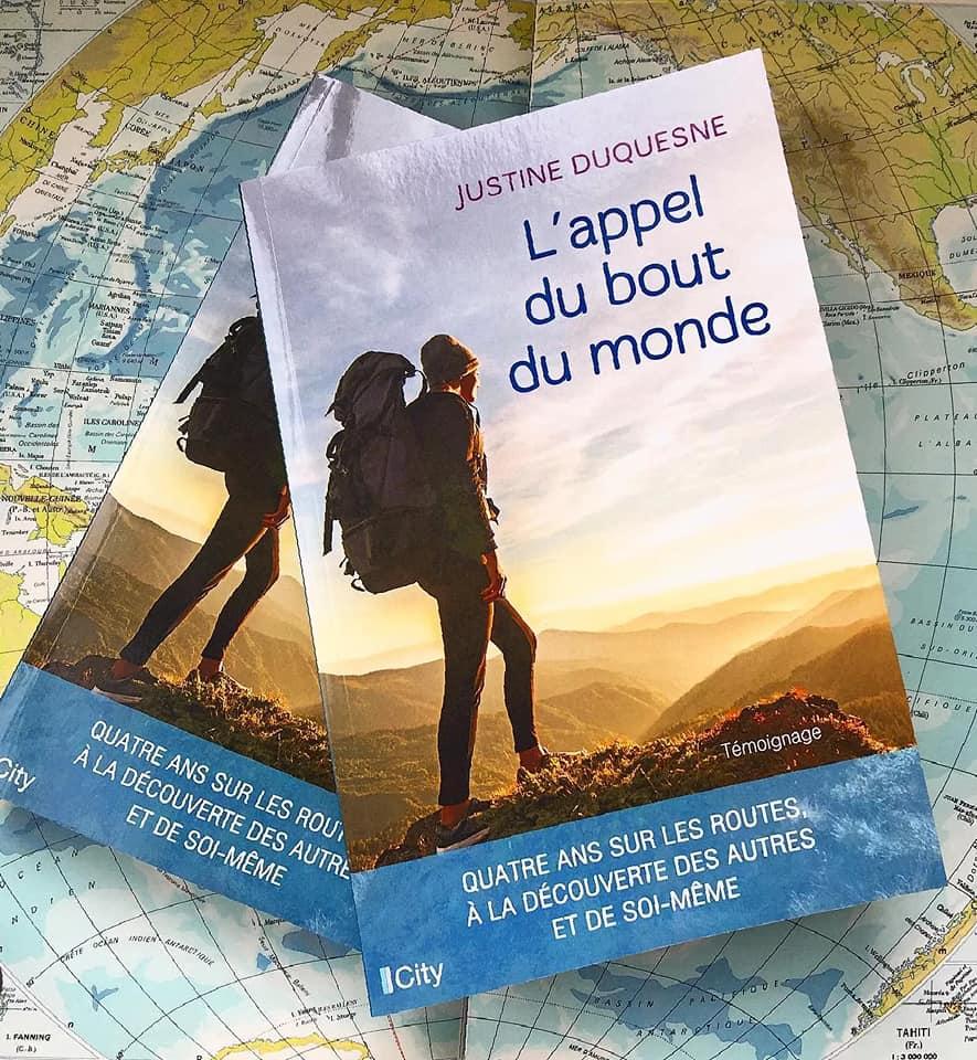 """Poursuivre ses rêves, Justine l'a écrit un livre """"l'Appel du bout du monde"""". Elle en parle à Flo dans Voyage sans aile sur allo la planete"""