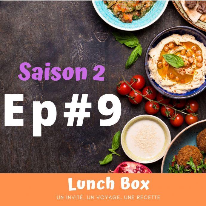Sarah décortique la culture culinaire dans lunch box sur la webradio Allo la Planete