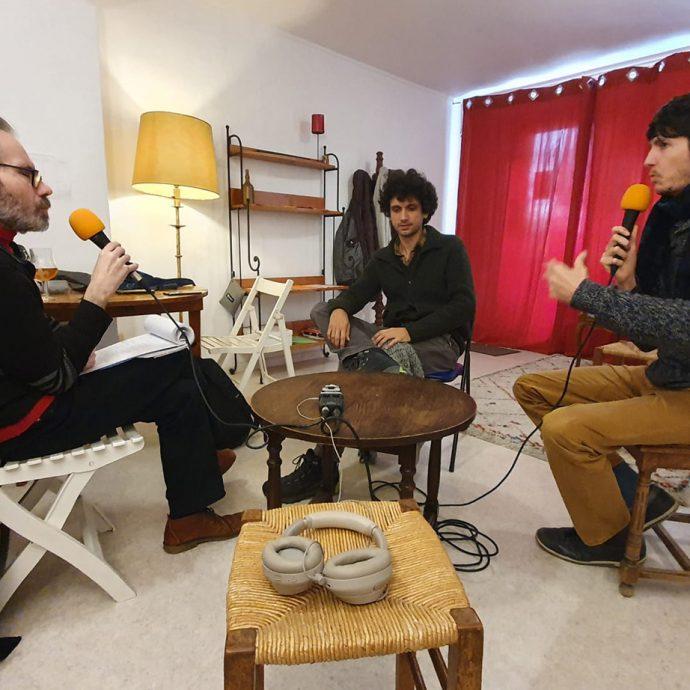 otavio mezenes quentin nelescu interview de fabrice berard dans z interview pour allo la planete webradio background