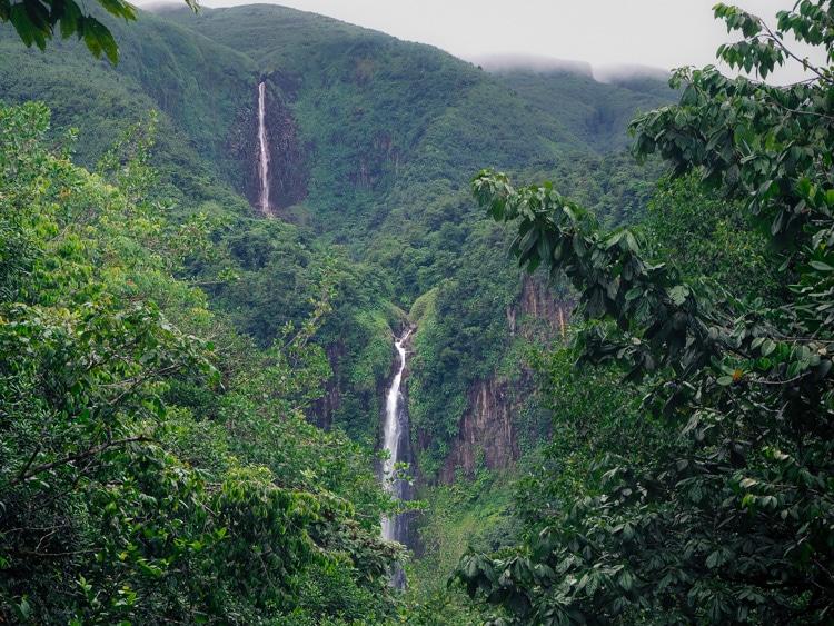 Les chutes du Carbet en Guadeloupe
