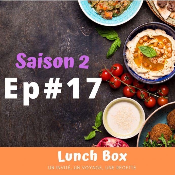 Julien, la cuisine est affaire de psychologie lunch box