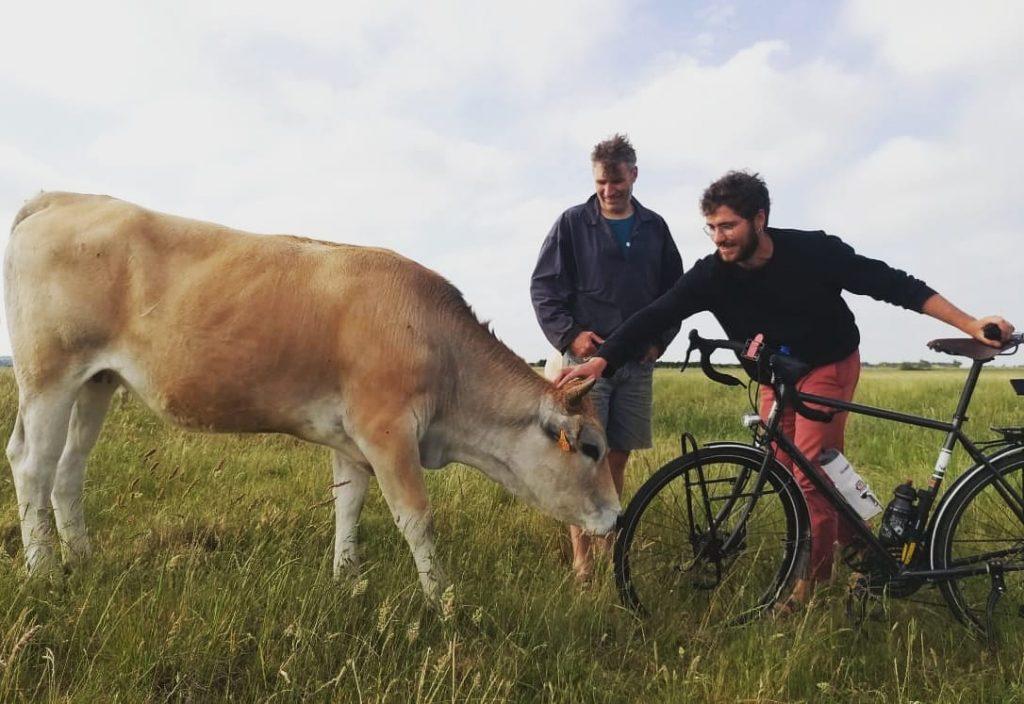 Bicyclette & Crudités - sur voyage sans ailes allo la planete Le partage au cœur du voyage